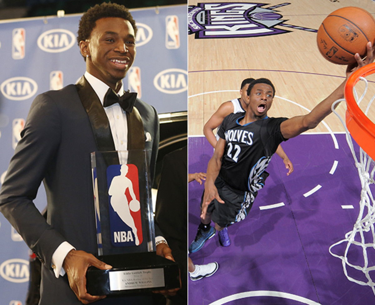 andrew wiggins 2014-15 nba rookie of the year