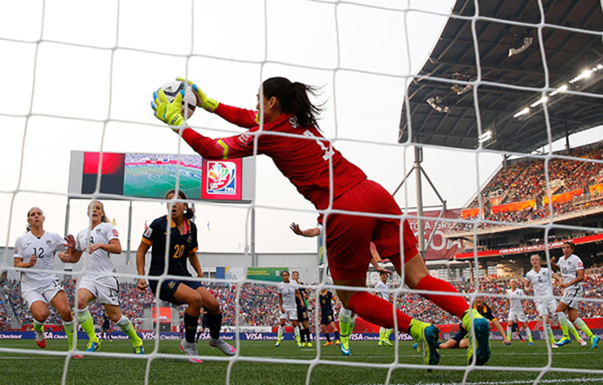 women's world cup us game 1 hope solo