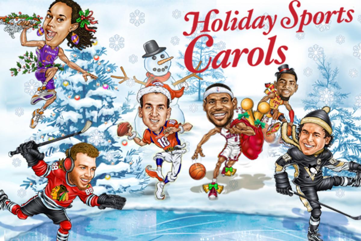 holiday sports carols