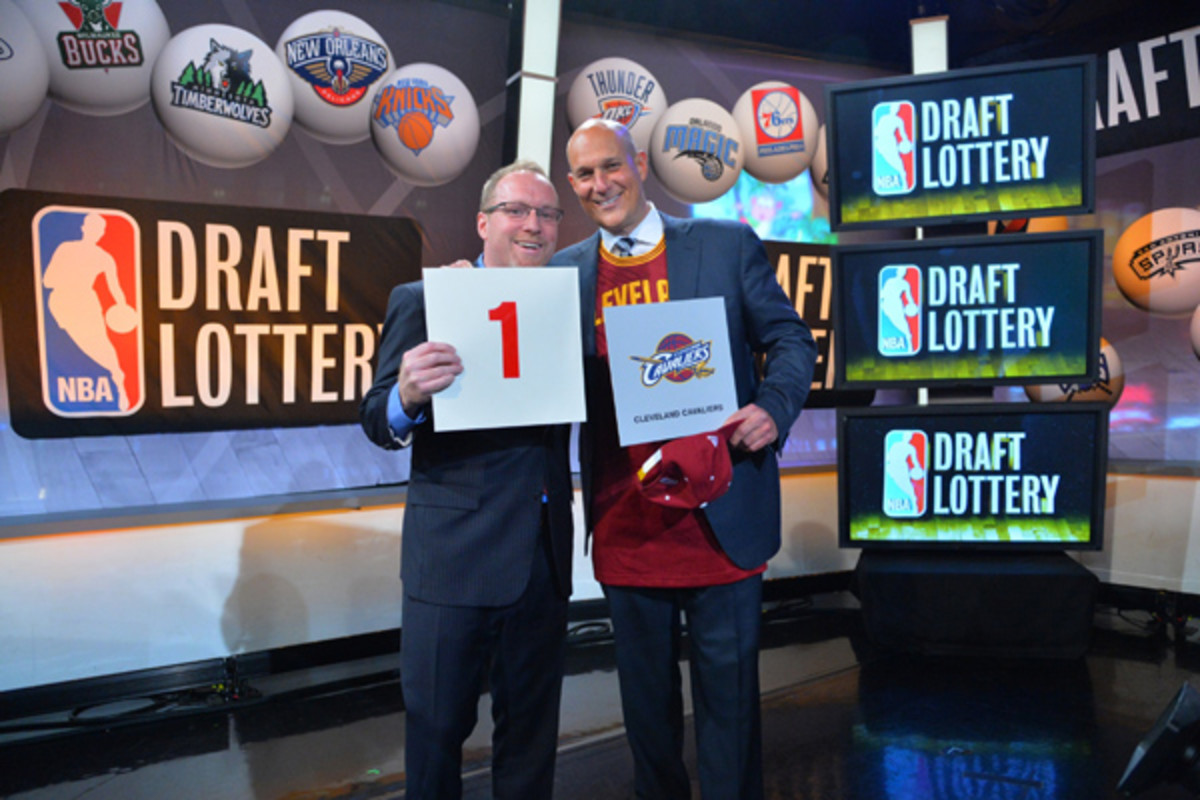 cleveland cavaliers 2014 nba draft lottery