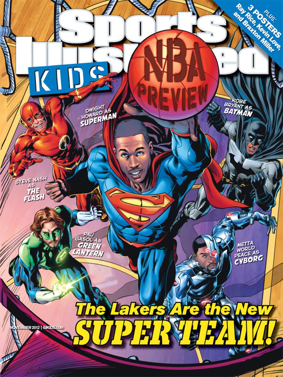 Lakers as Superheroes