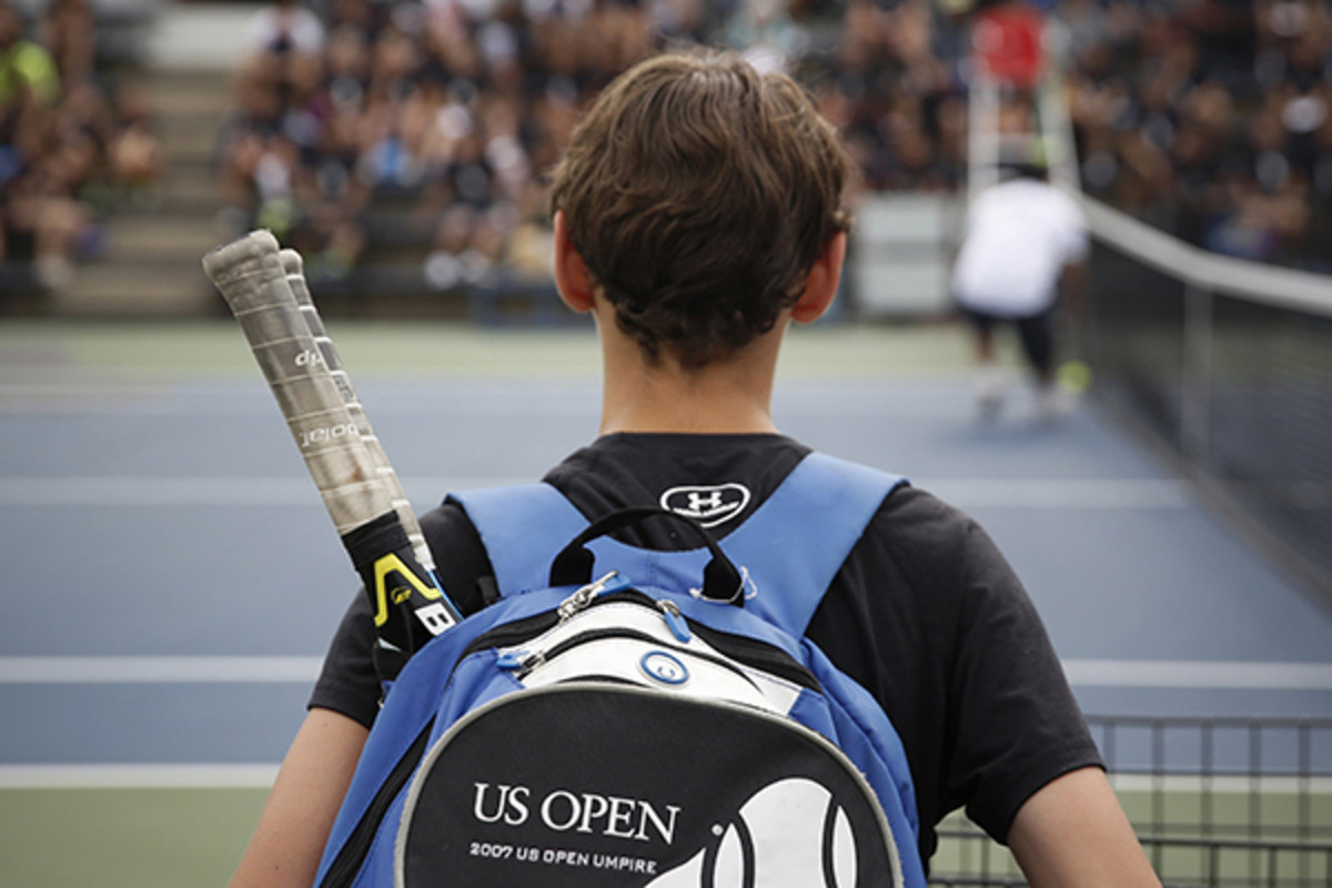us open ballperson tryout 2014