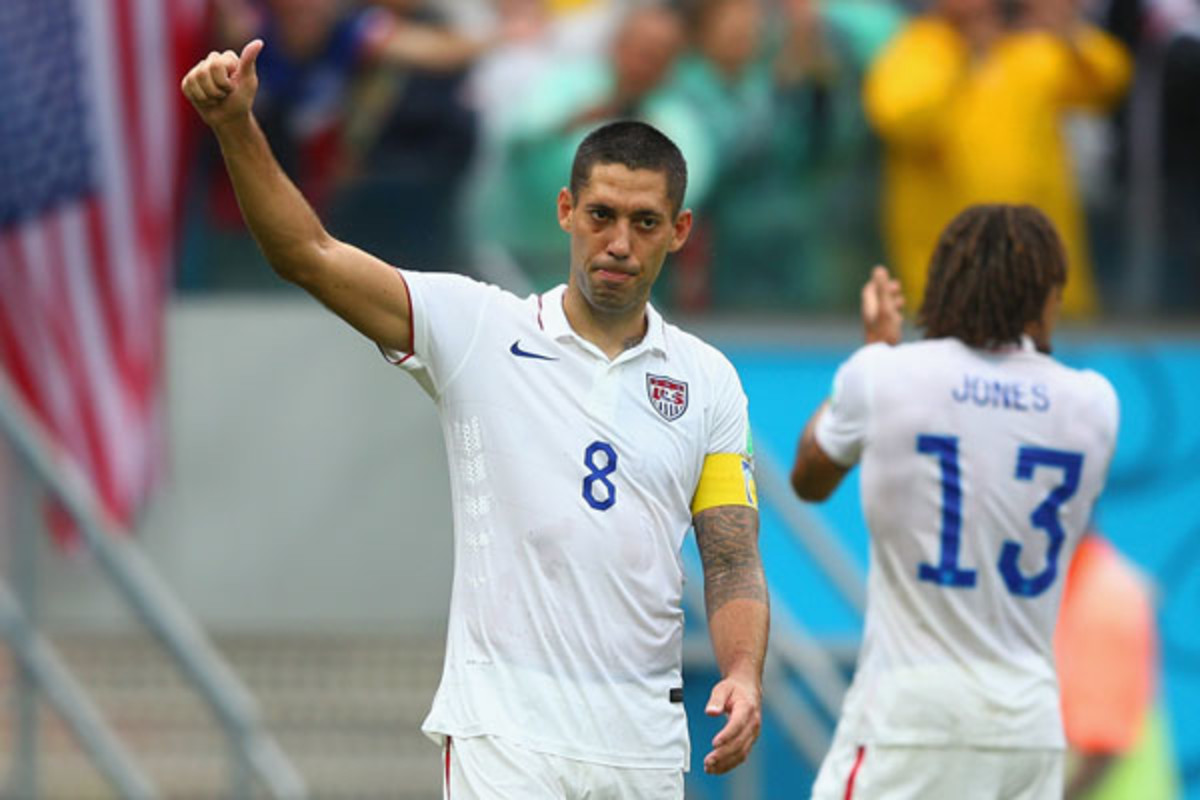 clint dempsey 2014 world cup knockout round
