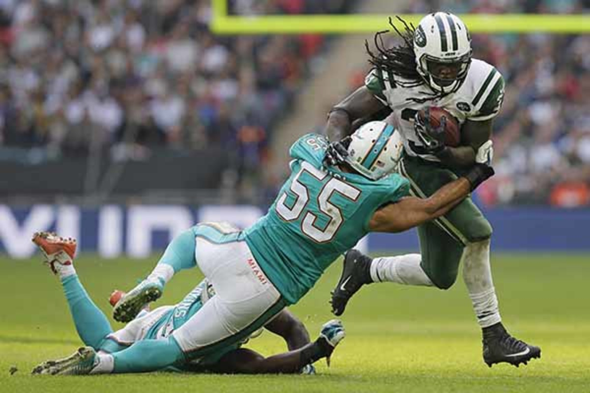 fantasy football 2015 week 5 risers sliders chris ivory