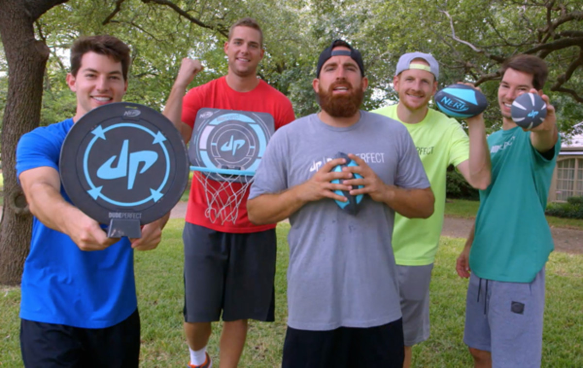 nerf dude perfect