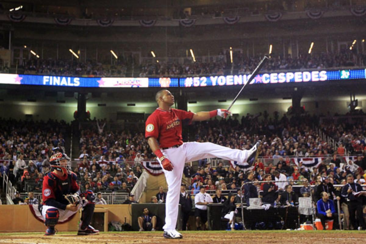 Yoenis Cespedes mlb all star game home run derby 2014