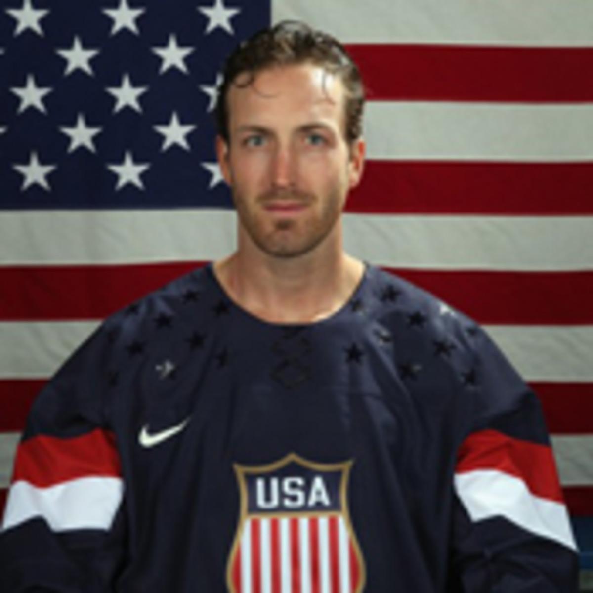brooks orpik 2014 us men's hockey team