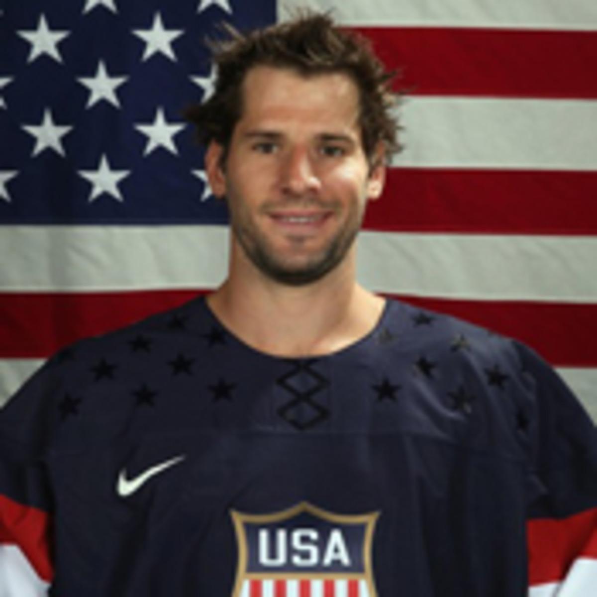 2014 us men's hockey olympics ryan kesler