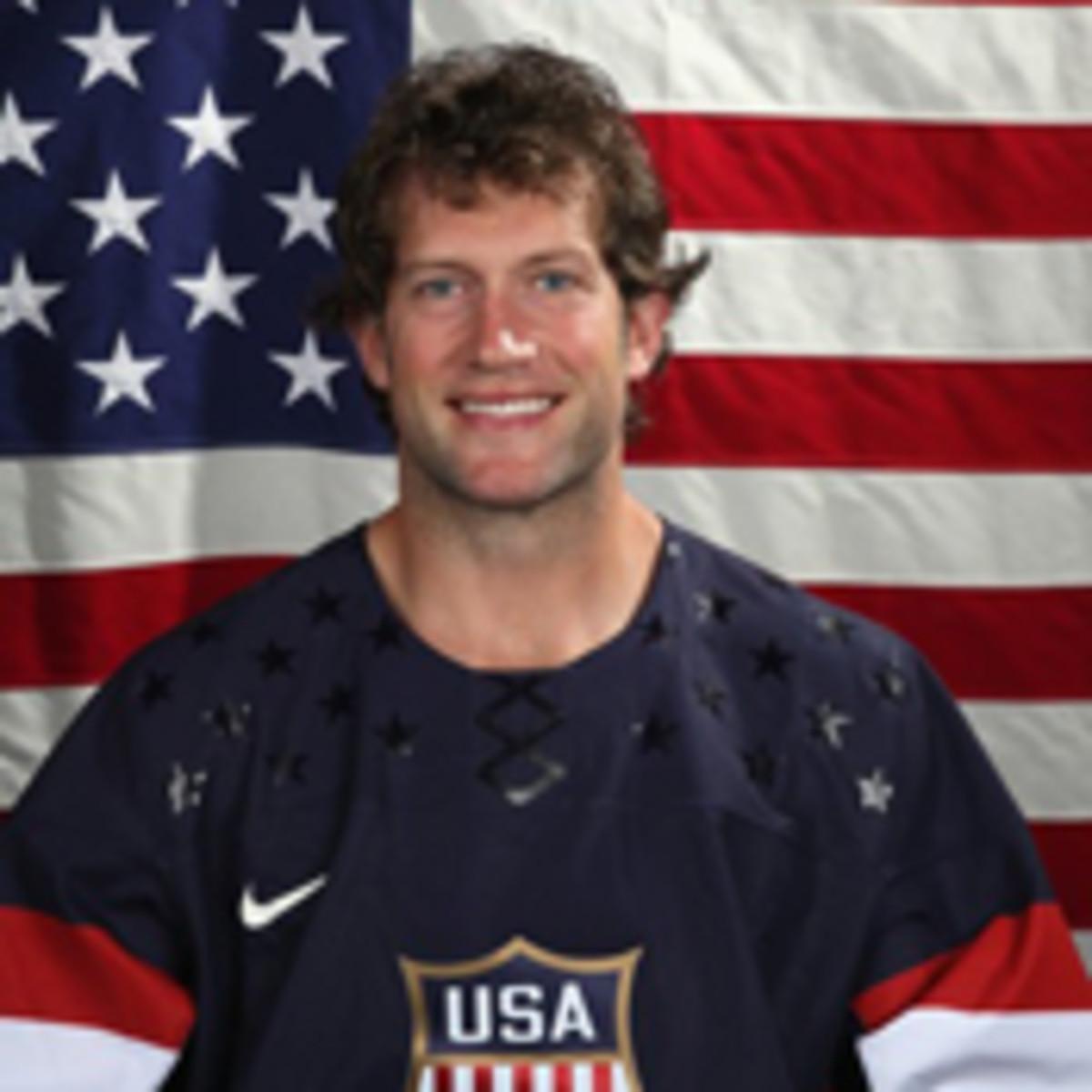 david backes 2014 us men's hockey olympics