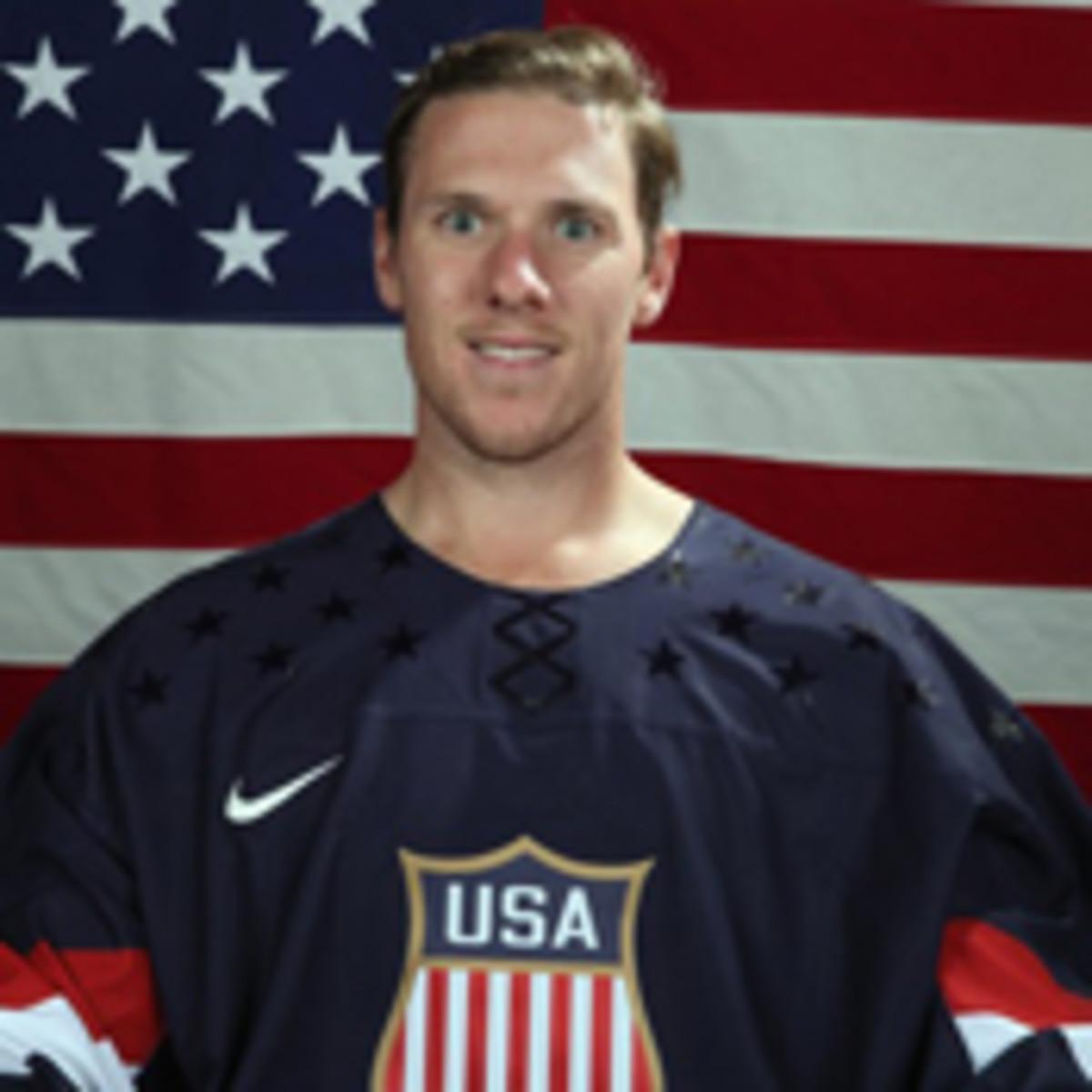 jimmy howard 2014 us men's hockey olympics