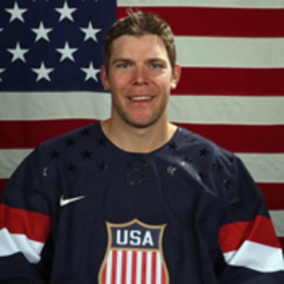 2014 us men's hockey olympics paul stastny