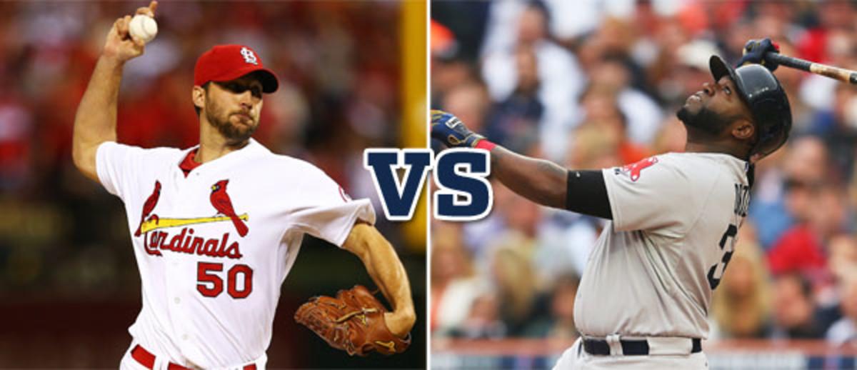 adam wainwright st. louis cardinals david ortiz boston red sox world series 2013