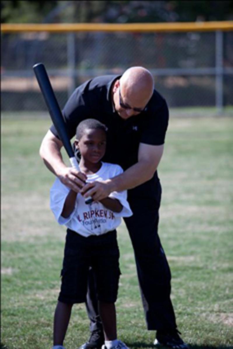 cal ripken jr teaching baseball