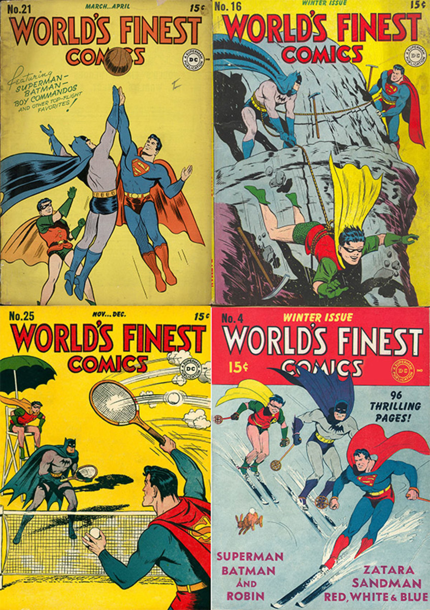 batman sports world's finest