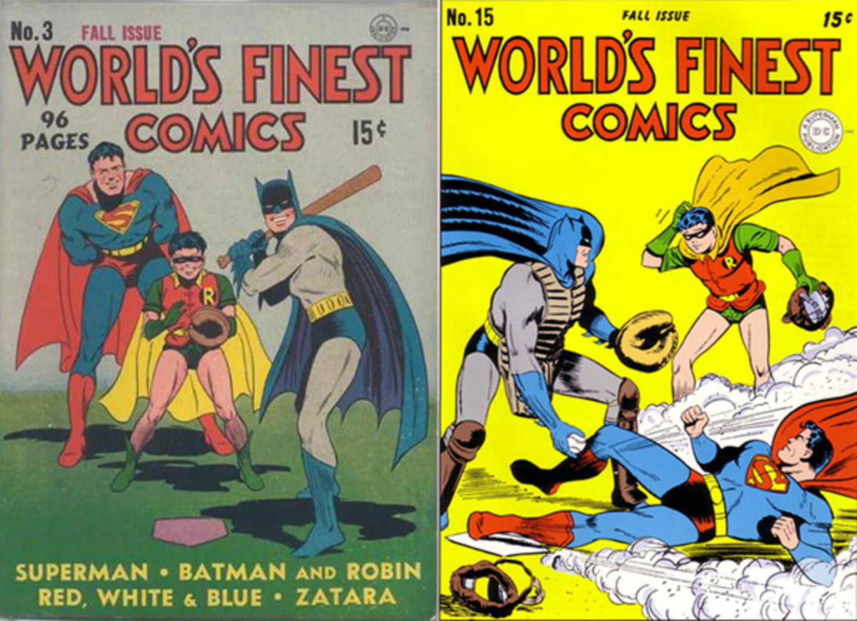 batman sports world's finest baseball