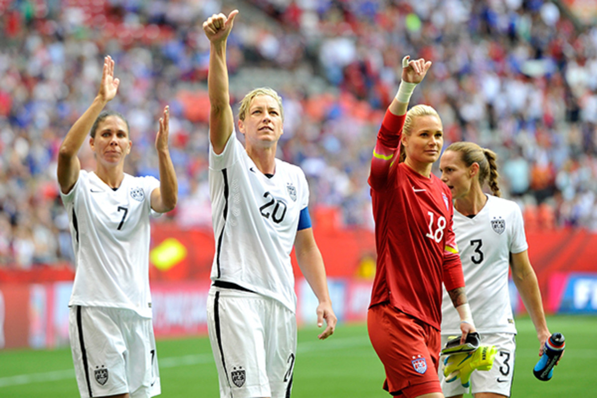 2015 women's world cup team usa advances