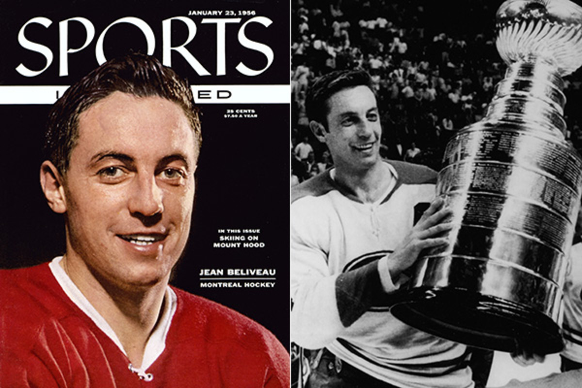 jean beliveau montreal canadiens