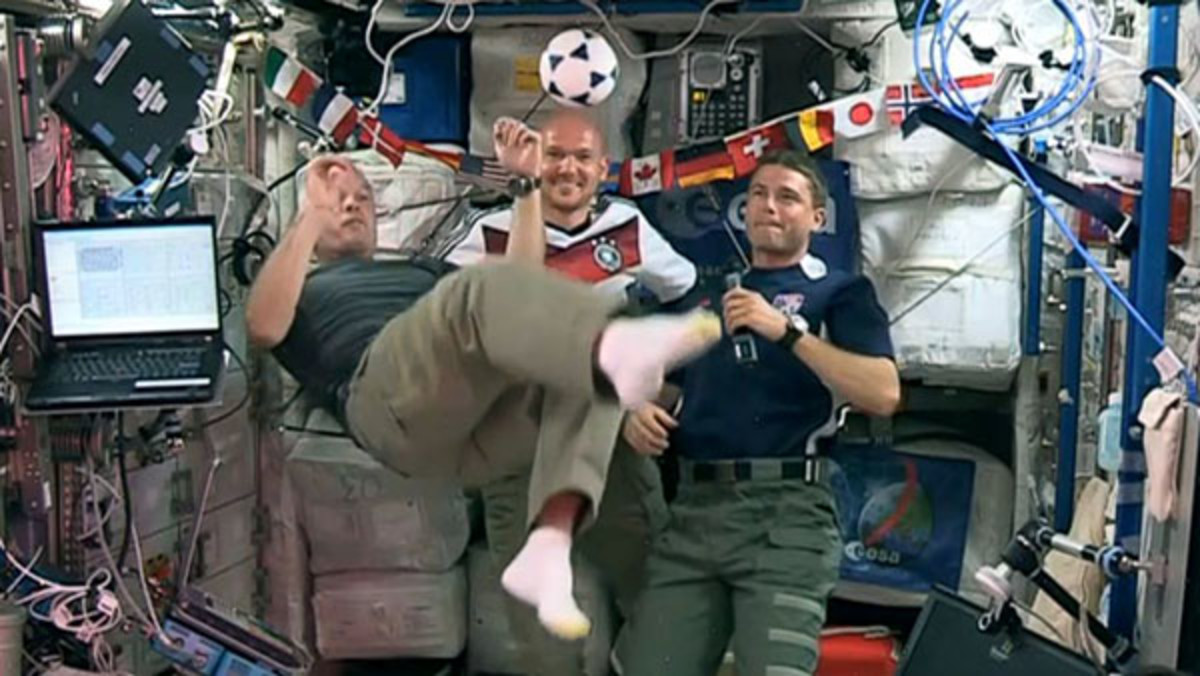 dr. steve swanson nasa astronaut space sports