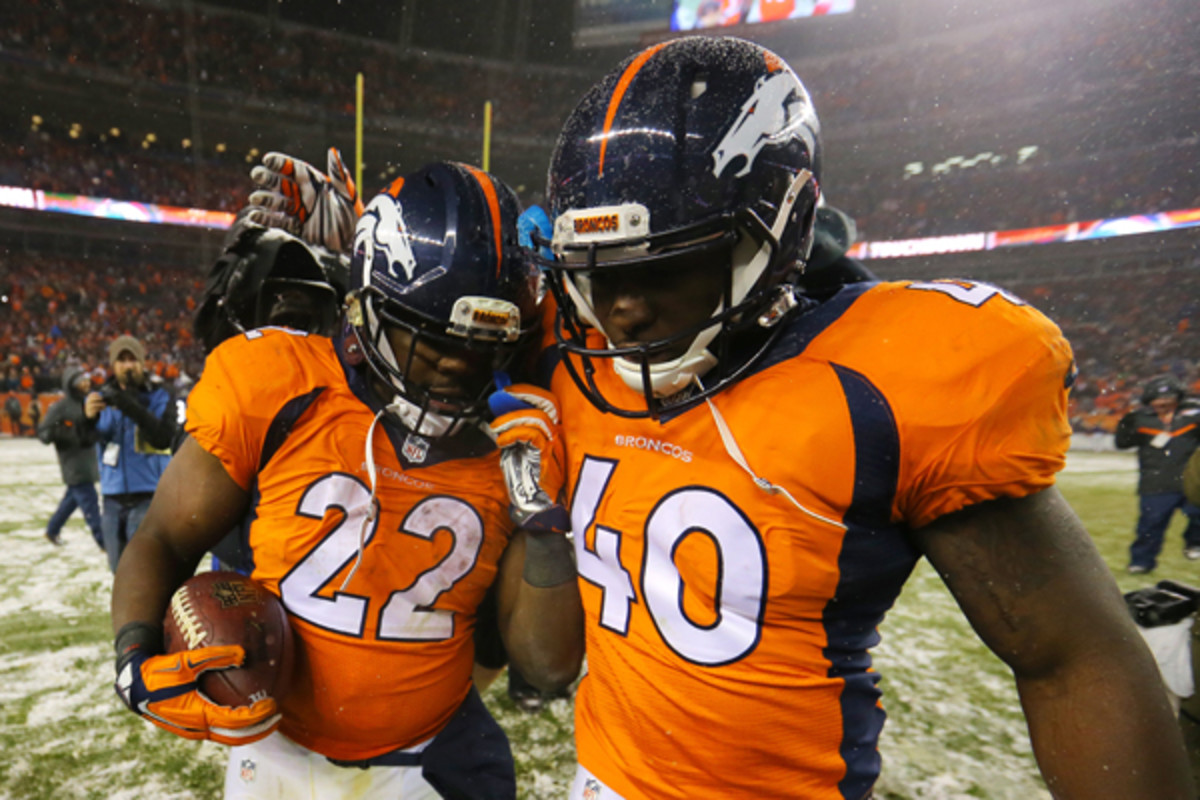 fantasy football 2015 week 13 risers broncos
