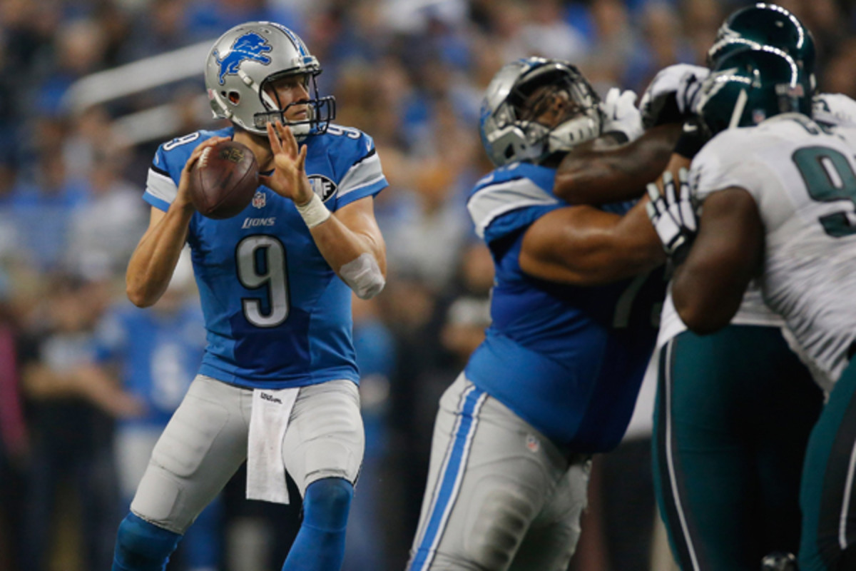 fantasy football 2015 week 13 risers matthew stafford