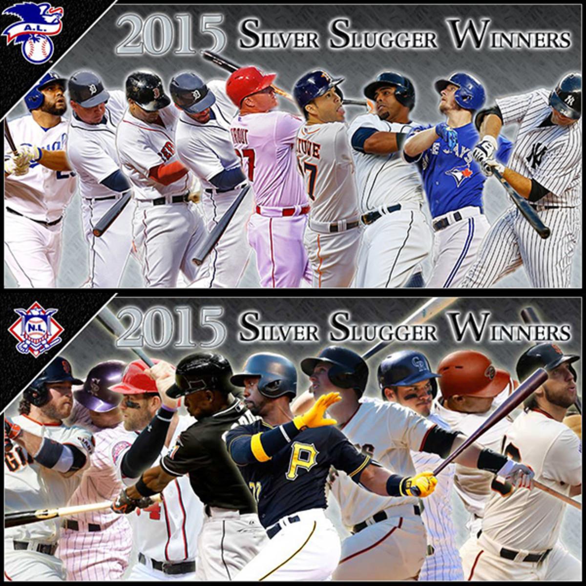 2015 silver sluggers major league baseball