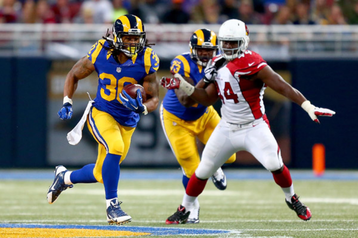 fantasy football 2015 week 14 risers and sliders todd gurley