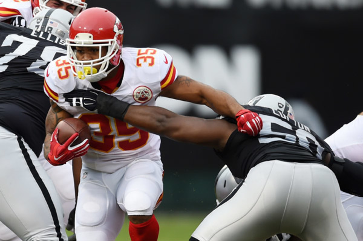 fantasy football 2015 week 14 risers and sliders charcandrick west