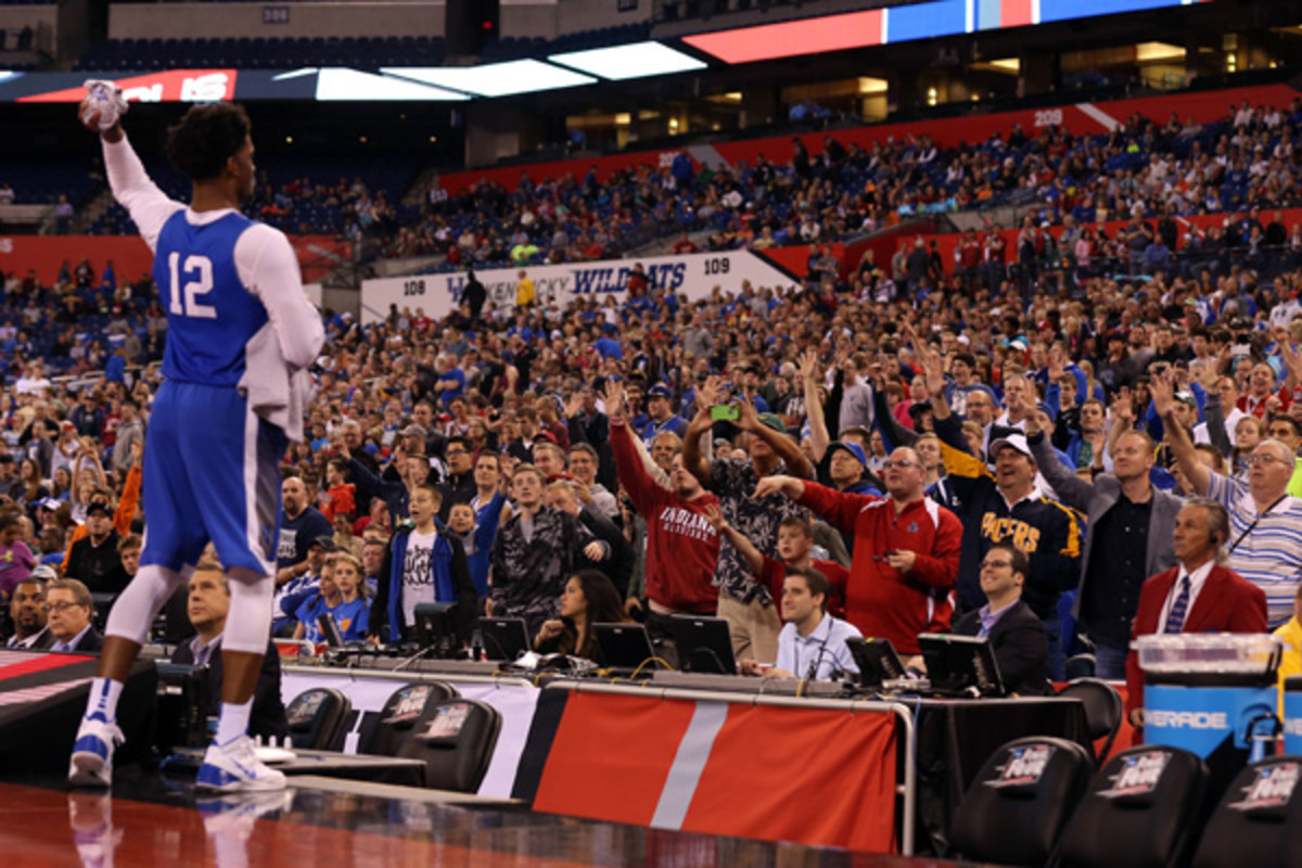 2015 final four day one