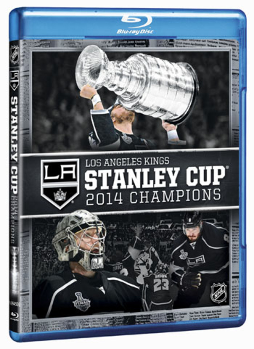 los angeles kings stanley cup champions blu-ray