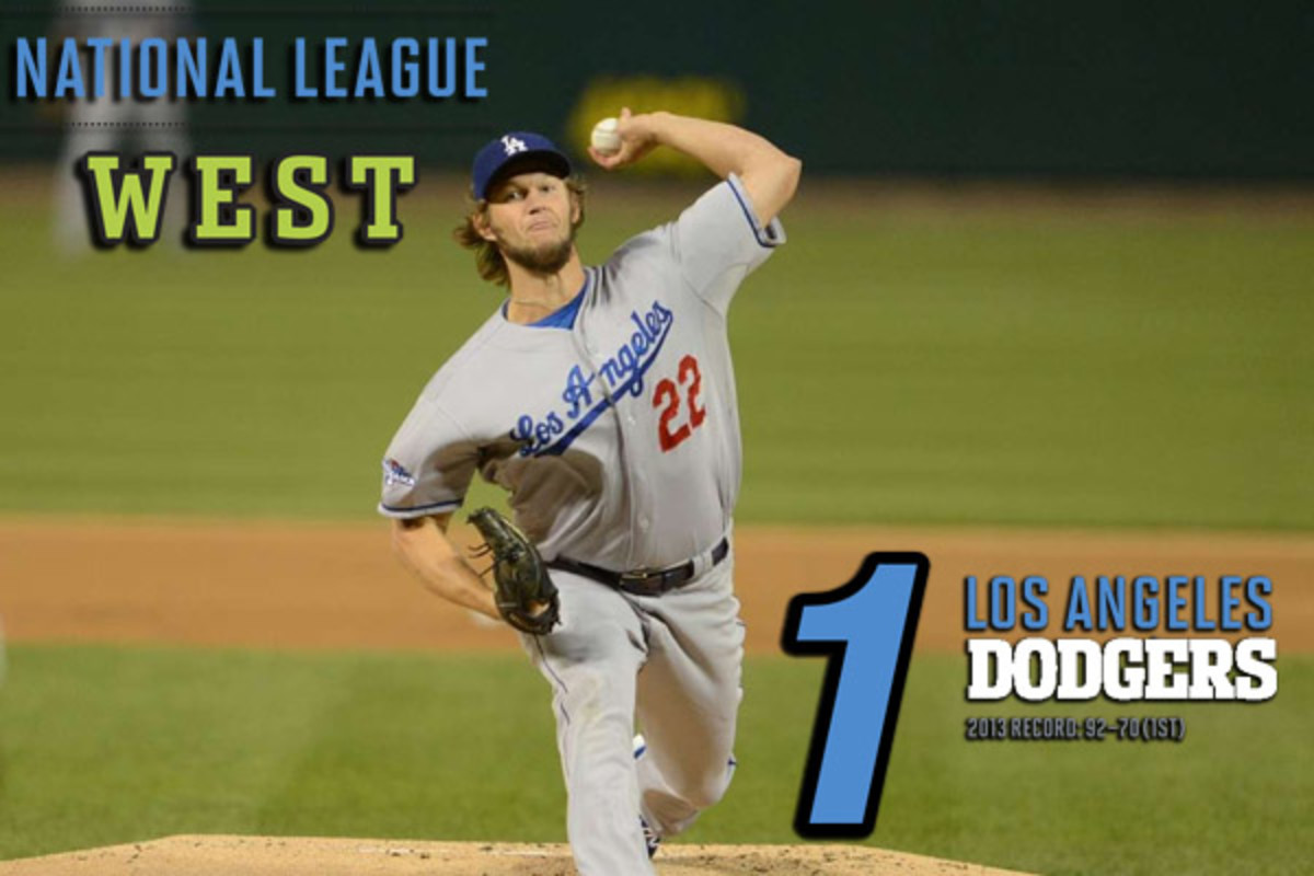 2014 mlb preview NL west los angeles dodgers
