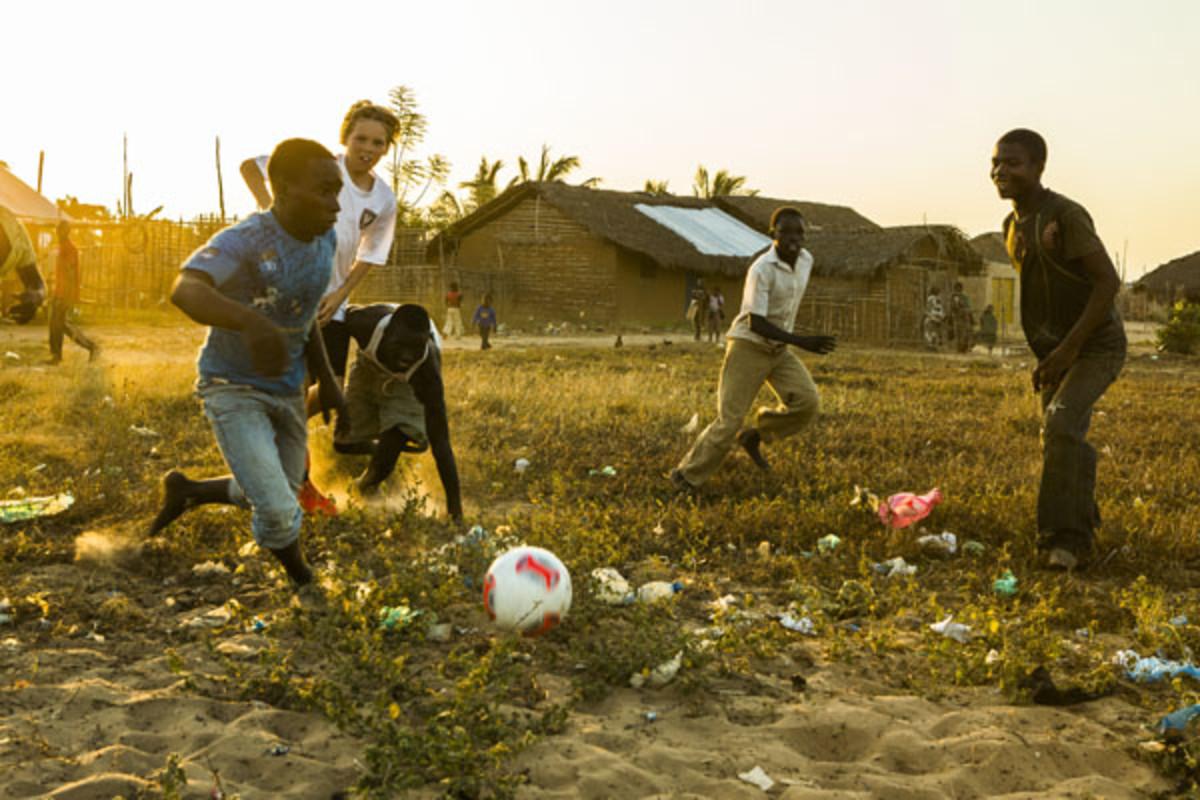 charity ball ethan king soccer
