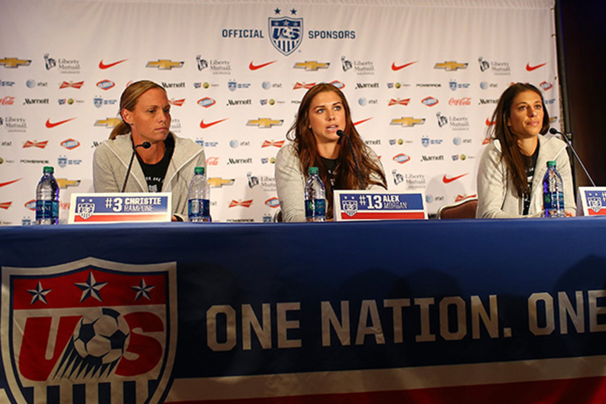 2015 women's world cup team usa media day
