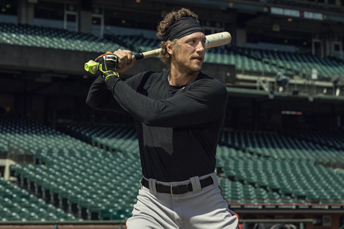 zepp labs baseball training center hunter pence