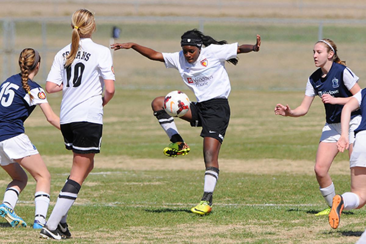 amazing young women beautiful ambition soccer