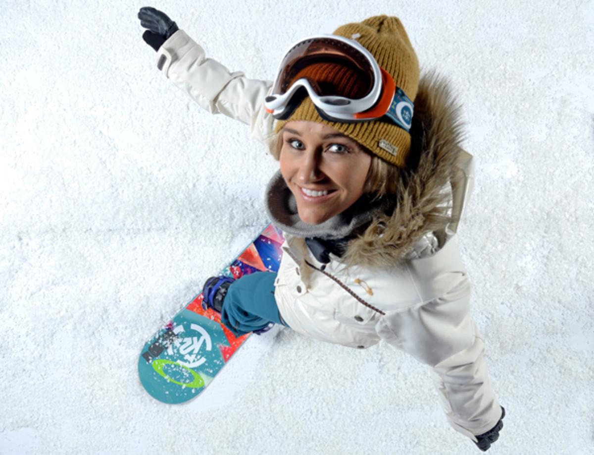 gretchen bleier snowboard