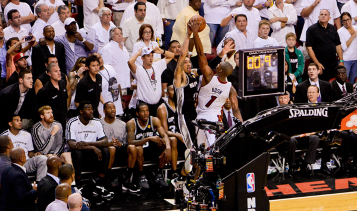 chris bosh danny green game 6
