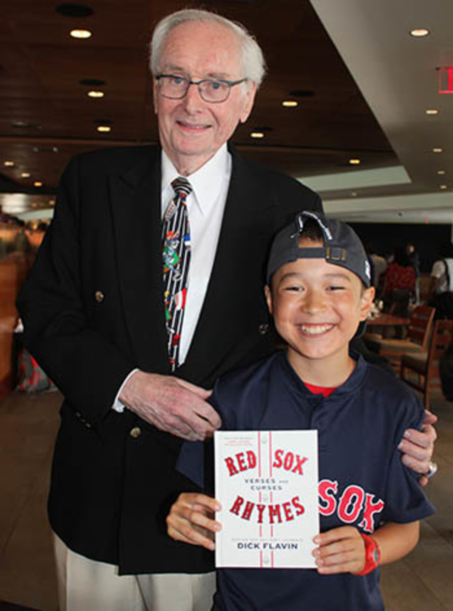 SI Kids dick flavin boston red sox poetry