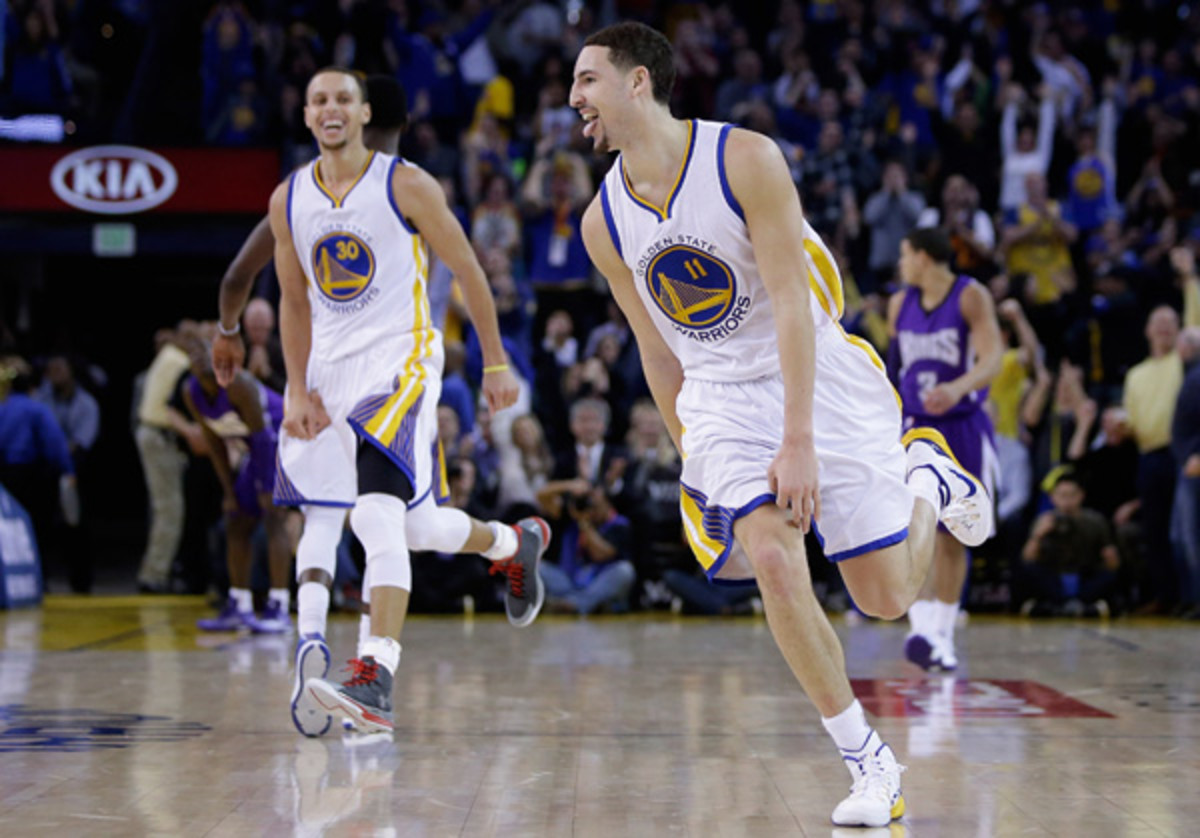 klay thompson golden state warriors 37 points