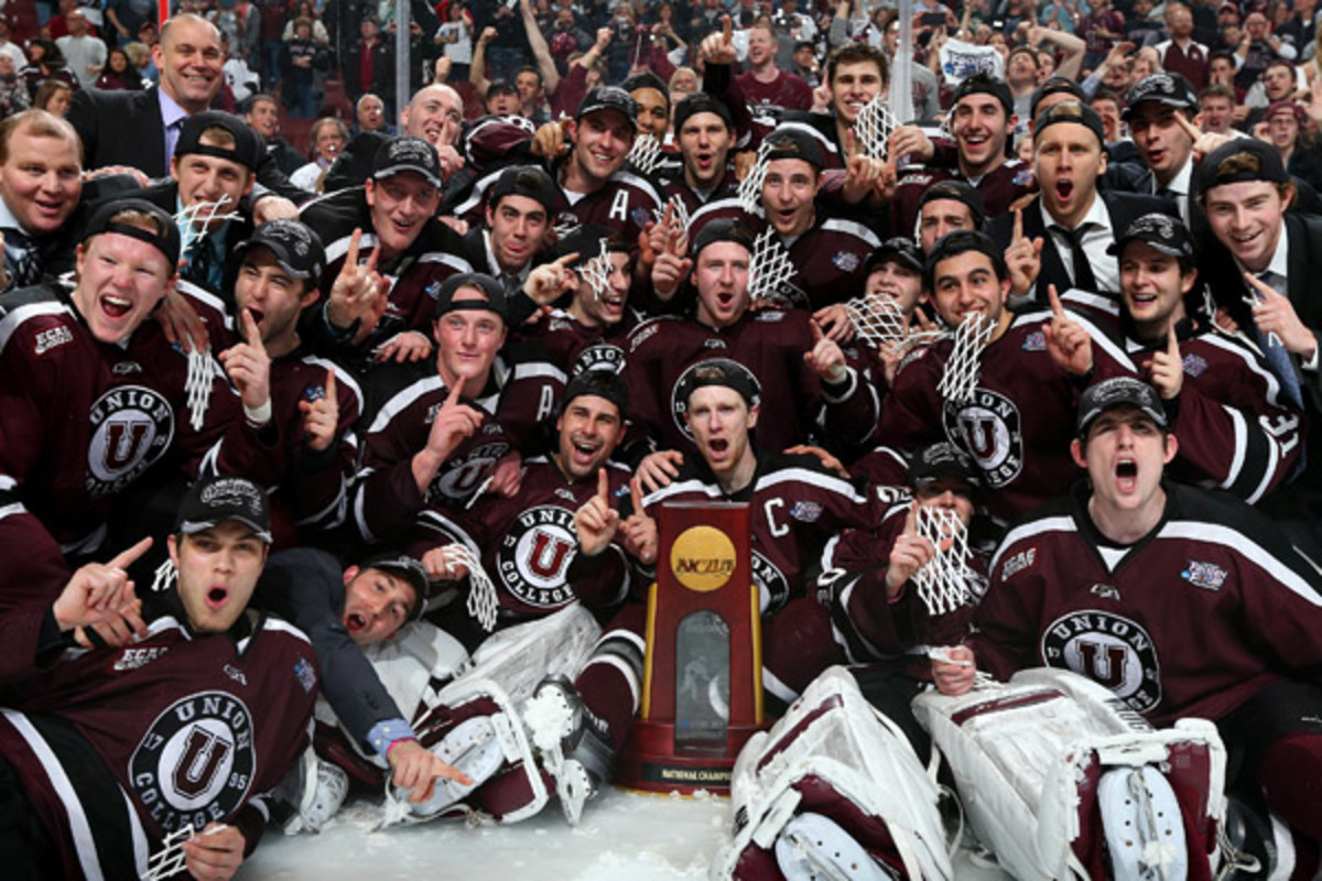 union dutchmen frozen four ncaa men's hockey championship