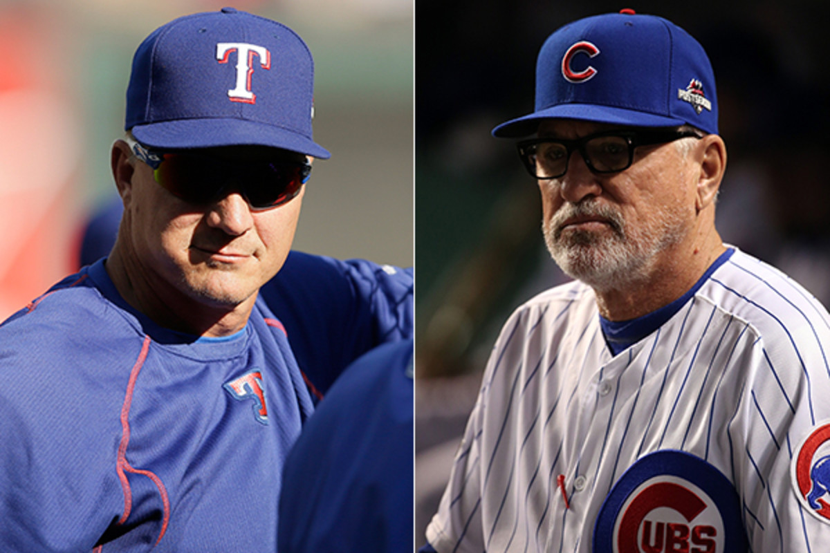 2015 mlb managers of the year jeff banister joe maddon