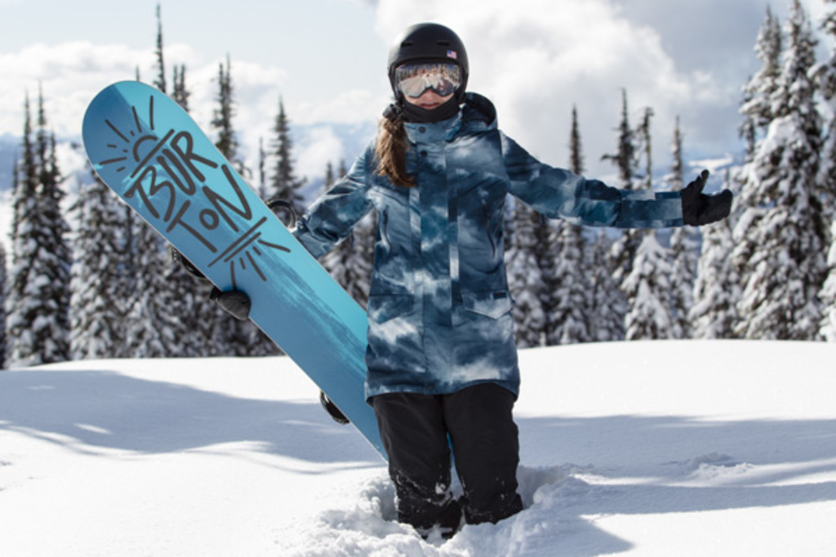 kelly clark burton snowboarding