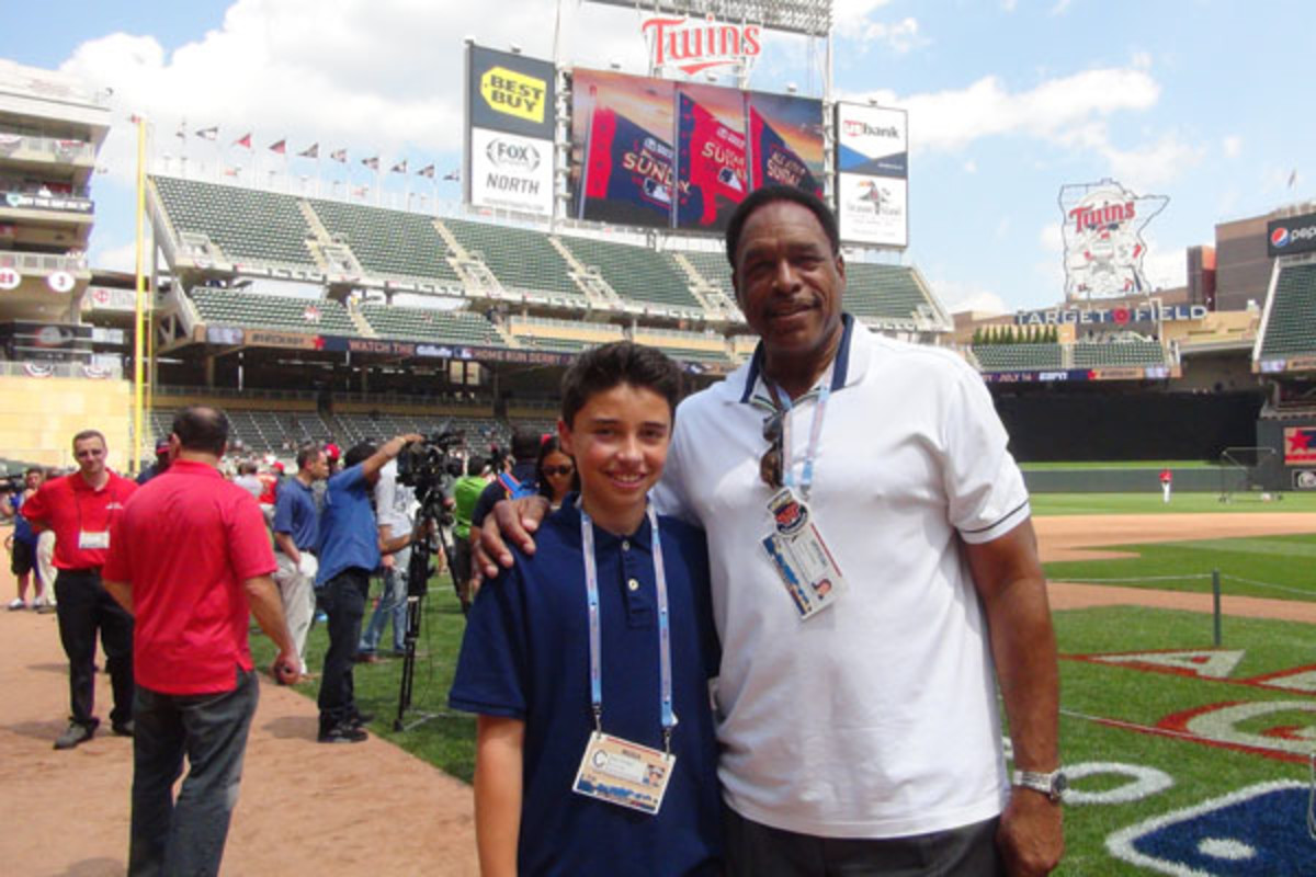 2014 mlb all-star game dave winfield