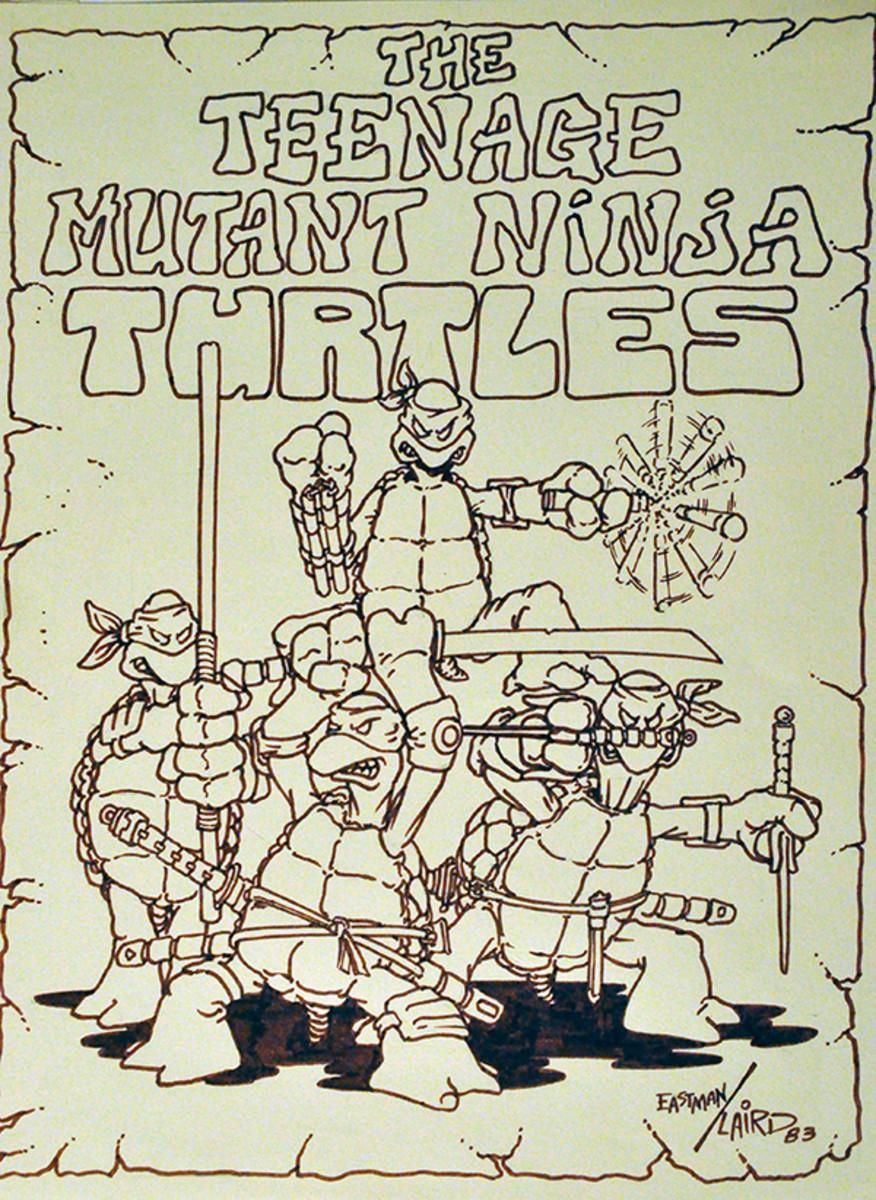 kevin eastman teenage mutant ninja turtles 1984