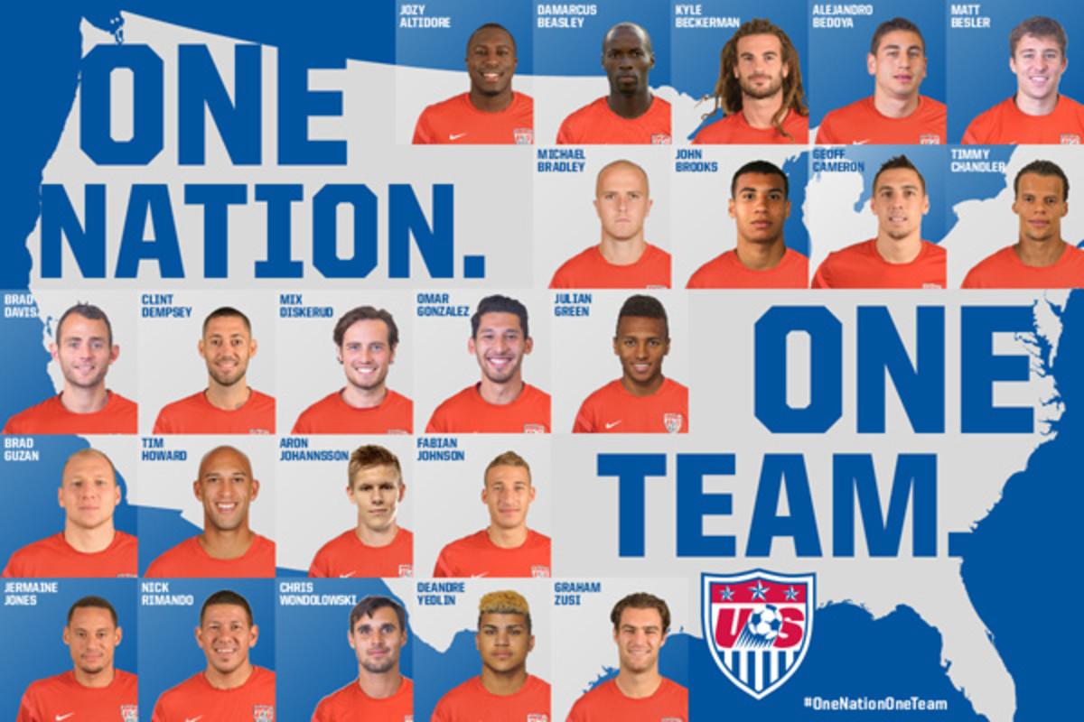 final us men's national team world cup 2014 roster