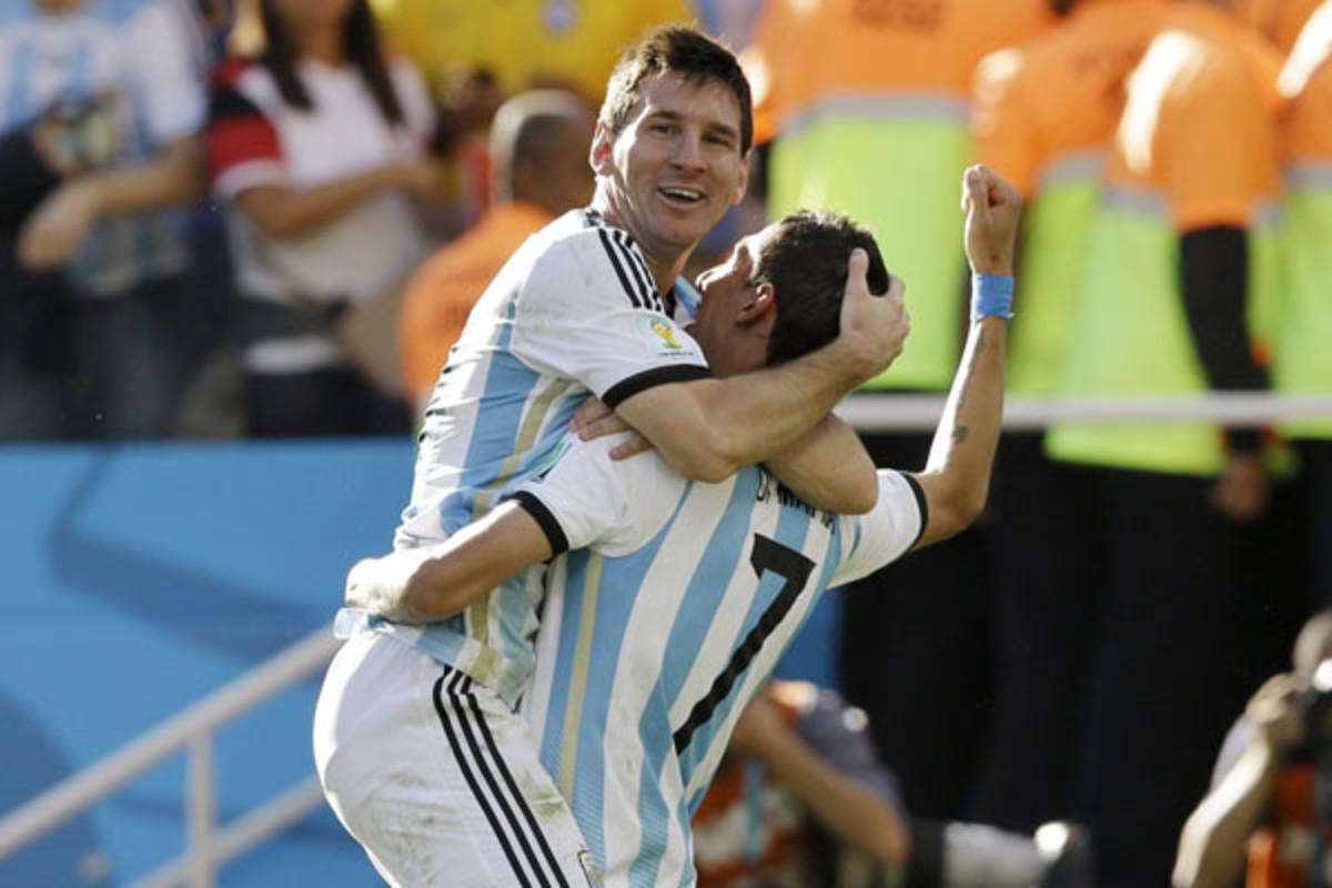2014 world cup quarterfinals messi