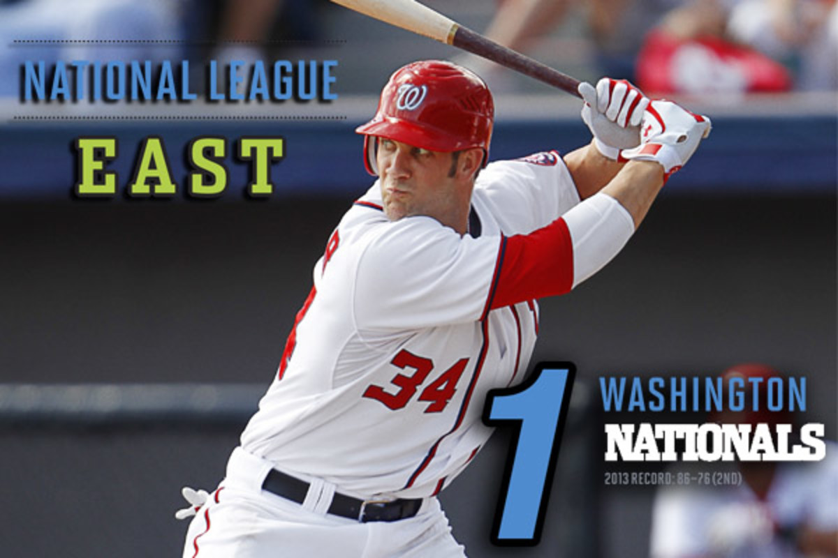 2014 mlb preview NL east washington nationals