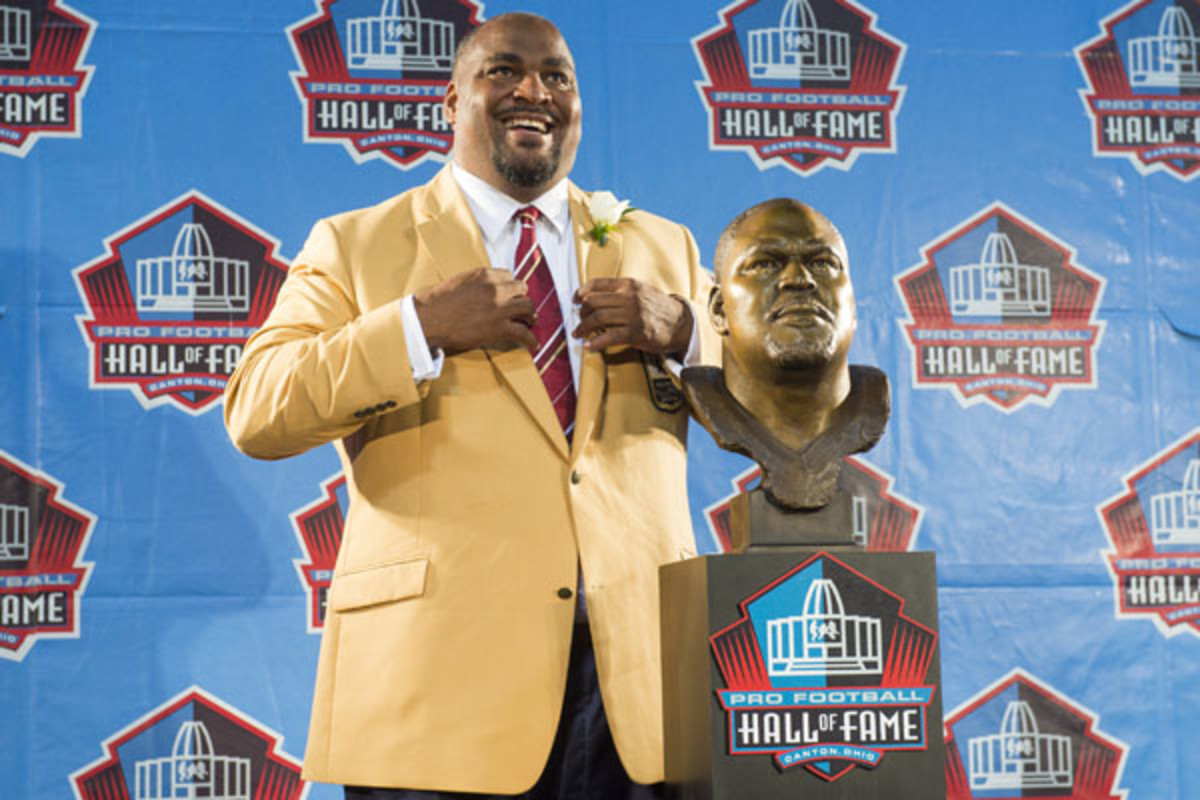 2014 pro football hall of fame walter jones