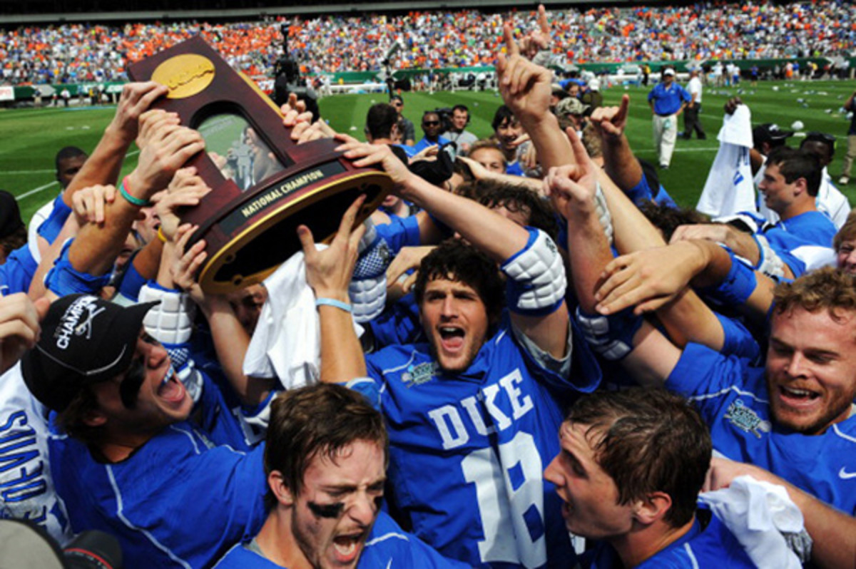 duke blue devils 2013 men's lacrosse national championship