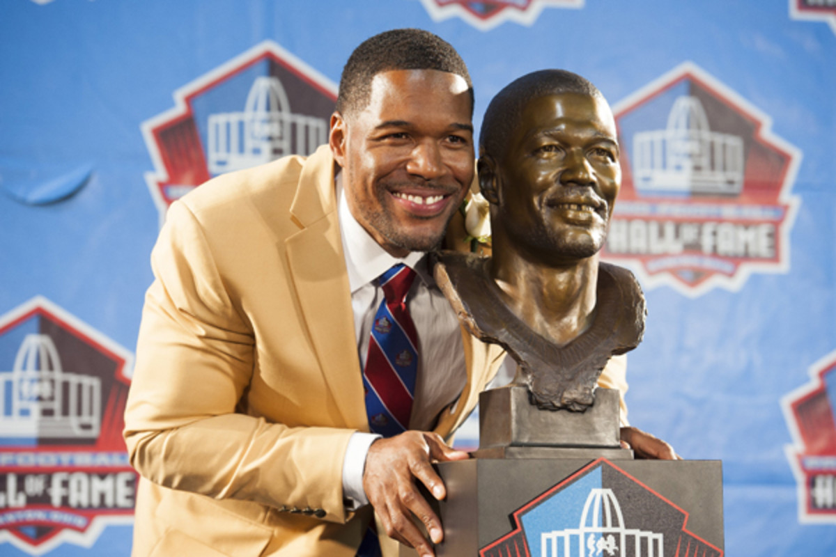 2014 pro football hall of fame michael strahan