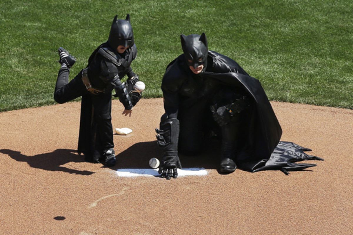batkid san francisco giants matt cain first pitch